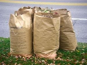 Paper Leaf Bags for Curbside Leaf Pick Up