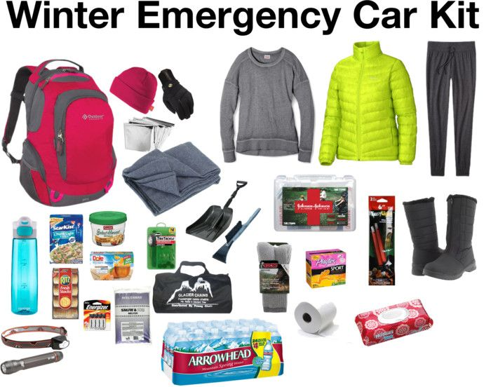 Winter Car Emergency Kit Image