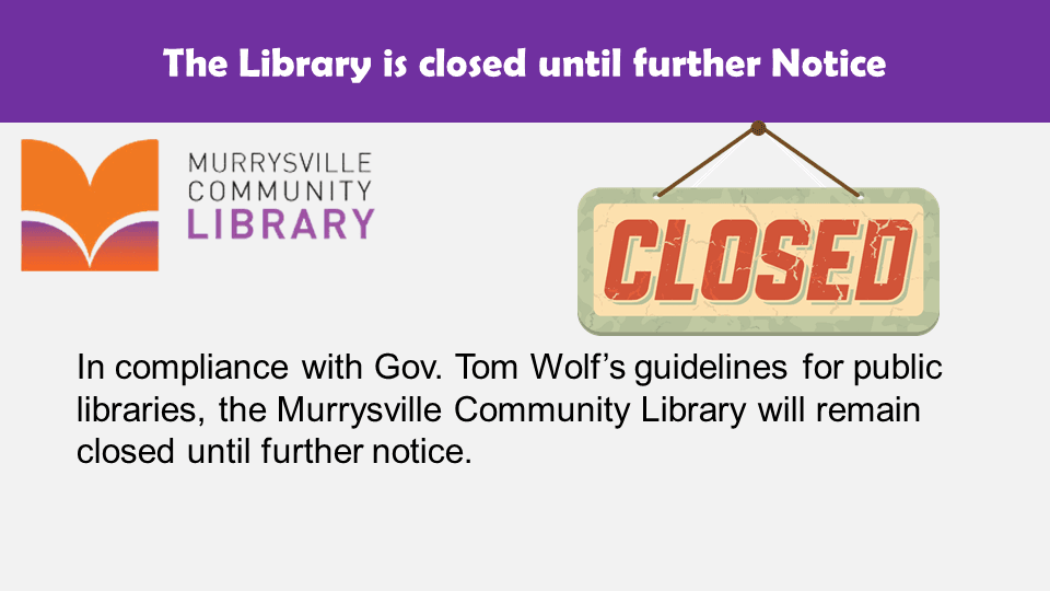 Library Closed 3-29-20 Slide1