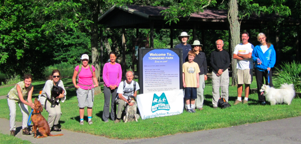 Murrysville Trail Alliance volunteers