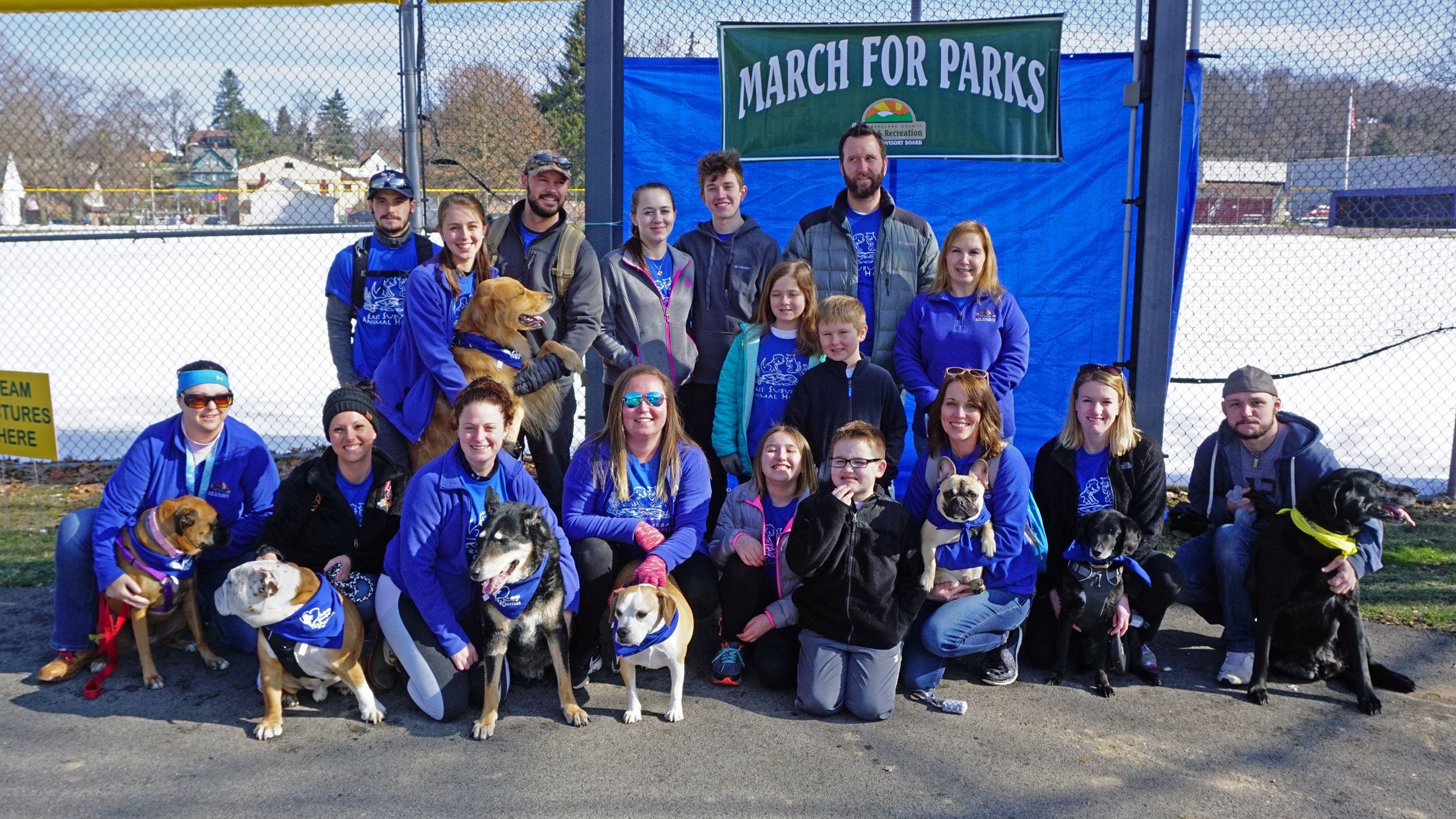 East Suburban Animal Hospital at March for Parks